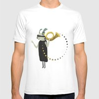 THE INTUITIVE QUEEN Mens Fitted Tee White SMALL