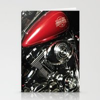 Harley Art Stationery Cards