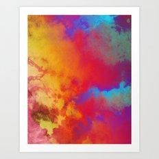 Dye to Live #society6 #decor #buyart Art Print