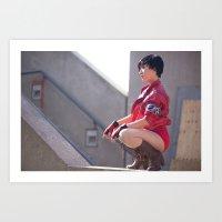 Stella Chuu As Kaneda Fr… Art Print