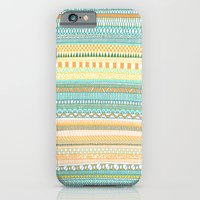 Mad Scribbles (coloured version) iPhone 6 Slim Case