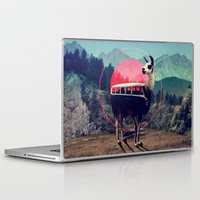 people Laptop & iPad Skins featuring Llama by Ali GULEC