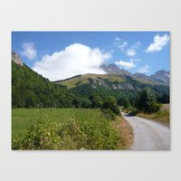 The Road To Paradise Canvas Print