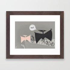 fly! Framed Art Print