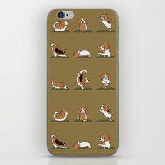 Beagle Yoga iPhone & iPod Skin
