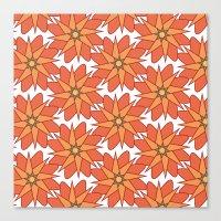 Spring Floral Pattern 2 Canvas Print