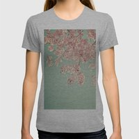 Serendipity  Womens Fitted Tee Athletic Grey SMALL