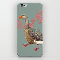 Festive Goose, Nordic, S… iPhone & iPod Skin