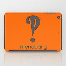 Interrobang, Serif iPad Case