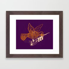 Musical Sunset Framed Art Print