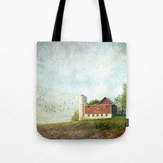 Rural Morning Tote Bag