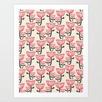 Daphne Floral Art Print