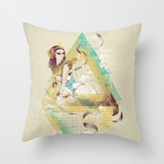 CleoARTra Throw Pillow