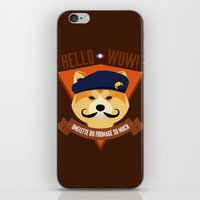 Hello Wow, Omelette Du F… iPhone & iPod Skin