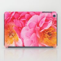 Hot Pink Peony iPad Case