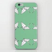 Paper Crane Motif, 2013. iPhone & iPod Skin