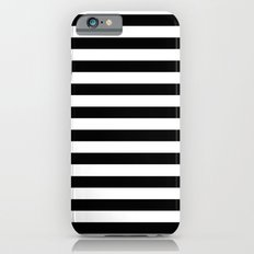 Modern Black White Strip… iPhone 6 Slim Case