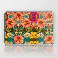 Perky Flowers! Laptop & iPad Skin