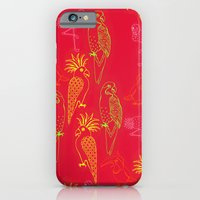 Tropical Birds - Summer School iPhone 6 Slim Case