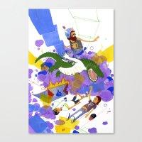 New Record Canvas Print