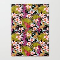 tropical lilly Canvas Print