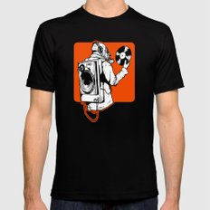Spin Mens Fitted Tee SMALL Black