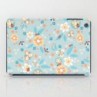 Ladybugs In The Garden iPad Case
