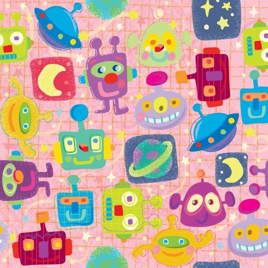 sweet bots Art Print