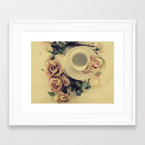 Tea Please... Framed Art Print