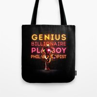 Iron Man: Genius Billion… Tote Bag