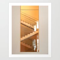 MoMa Stairs  Art Print