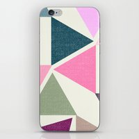 SPRING TRIANGLES iPhone & iPod Skin