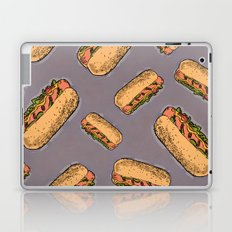 THERE'S ALWAYS TIME FOR A HOT-DOG! - LILAC Laptop & iPad Skin