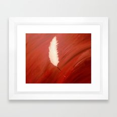 Blood, Feather & Fate Framed Art Print