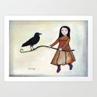 Counter Poise Art Print