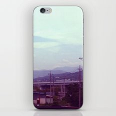 On the Bullet Train iPhone & iPod Skin