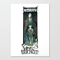 Lady Macbeth Illustration From Shakespeare Canvas Print