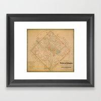 Civil War Washington D.C… Framed Art Print