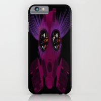 iPhone & iPod Case featuring Gas Mask Sparkle by Icelandria