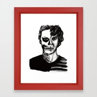 Tate from American Horror Story Framed Art Print