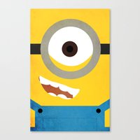 Simple Heroes - Minion Canvas Print