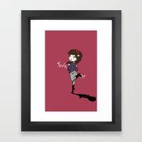 Touch Me ! Framed Art Print