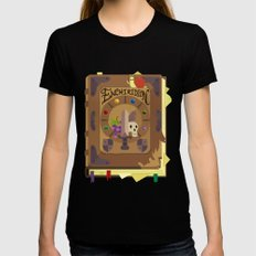 ENCHIRIDION Womens Fitted Tee Black SMALL