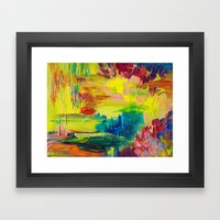 GOING THROUGH THE MOTION… Framed Art Print