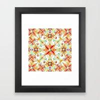 Suzani Textile Framed Art Print