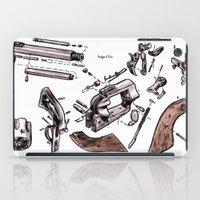 Exploded Gun iPad Case