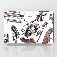 Exploded Gun iPad Case