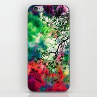 The Tree Of Many Colors … iPhone & iPod Skin