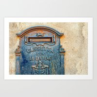 Italian Mailbox Art Print