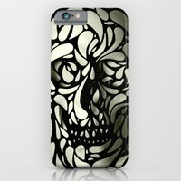 iPhone Cases featuring Skull by Ali GULEC